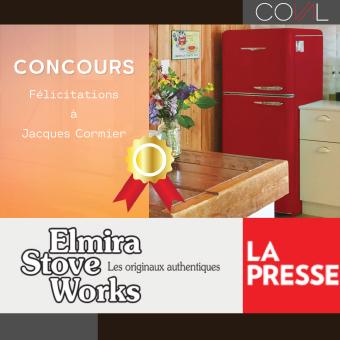 Gagnant du concours La Presse Elmira Stove Works